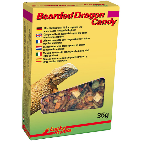 Lucky Reptile Bearded Dragon Candy 35g, HD-03