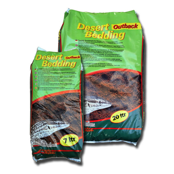 Lucky Reptile Desert Bedding Outback Red 7L, DBO-7