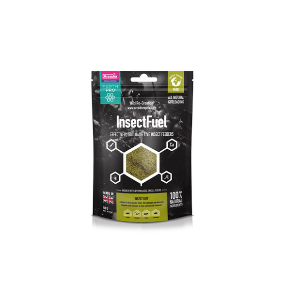 Arcadia EarthPro Insect Fuel 50g,