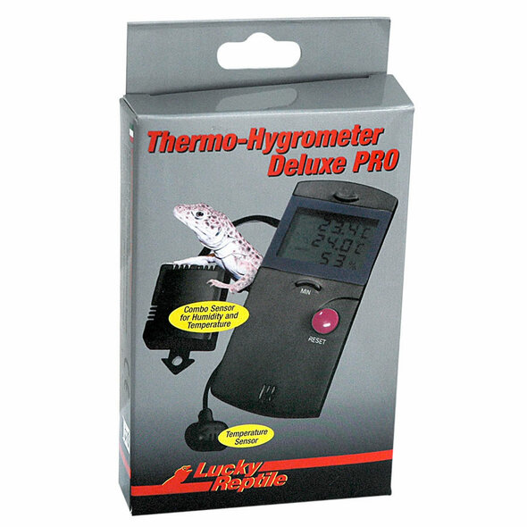 Lucky Reptile Thermometer-Hygro Deluxe PRO, LTH-34