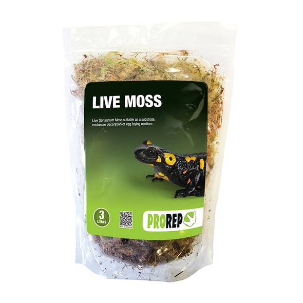 ProRep Live Moss, Large Bag (approx 3L)