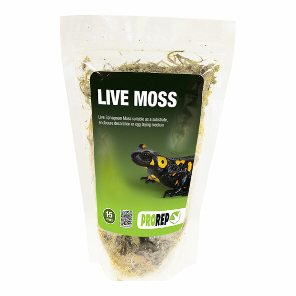 ProRep Live Moss, Small Bag (approx 1.5L)