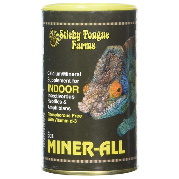 Sticky Tongue Farms Miner-all Indoor 6oz (170g) Can