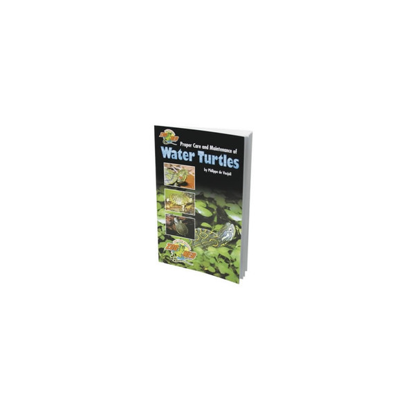 Zoo Med Care of Water Turtles, ZB-20