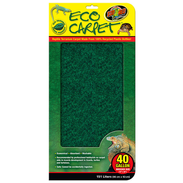 Zoo Med Eco Cage Carpet 40 G BREED, CC-40B