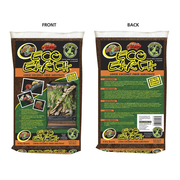 Zoo Med Eco Earth Loose Pack 8.8L, EE-8