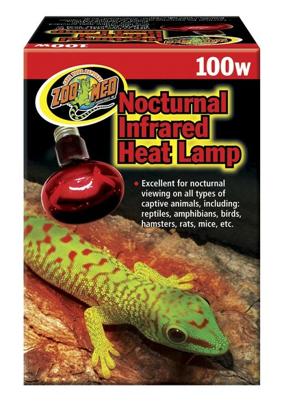 Zoo Med Infrared Heat Lamp 100W ES, RS-100