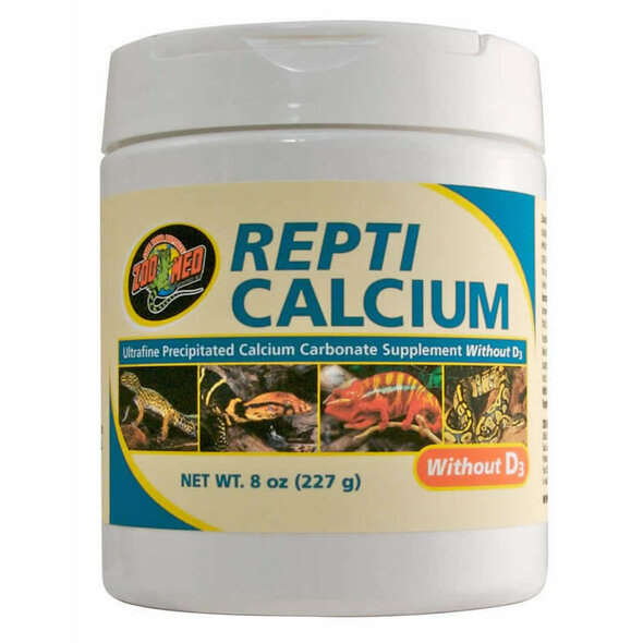Zoo Med Repti Calcium WITHOUT D3 227g, A33-8