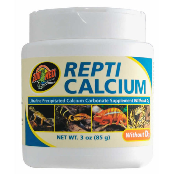Zoo Med Repti Calcium WITHOUT D3 85g, A33-3