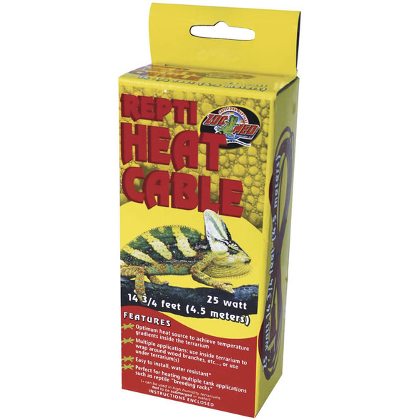 Zoo Med Repti Heat Cable 25W, 4.5m, RHC-25