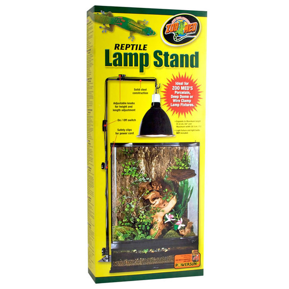 Zoo Med Reptile Lamp Stand Standard, LF-20