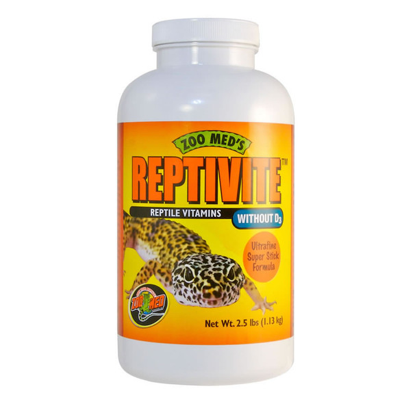 Zoo Med Reptivite WITHOUT D3  226.8g, A35-8