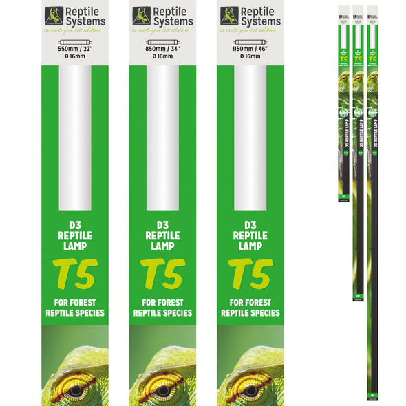 Reptile Systems D3 Pro T5 6% 550mm - 24w