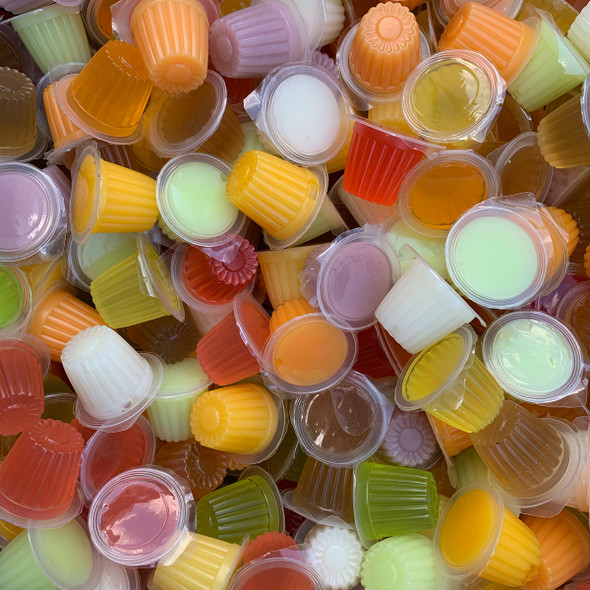 Jelly Pots (Mixed Flavours) Priced Individually