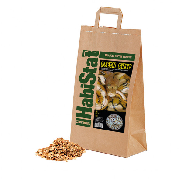 HabiStat Beech Chip Substrate, Fine, 5 Litres