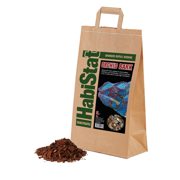 HabiStat Orchid Bark Substrate, Fine, 5 Litres