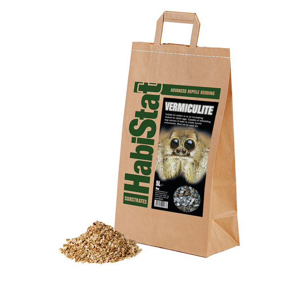 HabiStat Vermiculite Substrate, Fine, 5 Litres