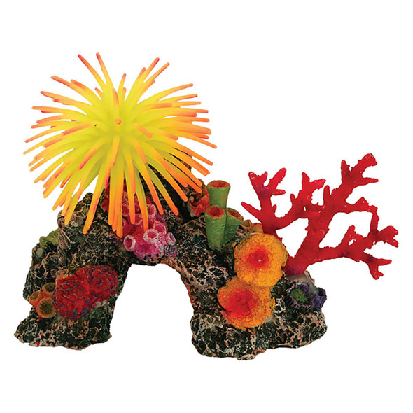 Coral Reef with Anemone 16.5x11x12cm AQ28225