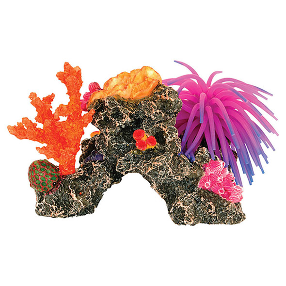 Coral Reef with Anemone 18x10.5x12cm AQ28220