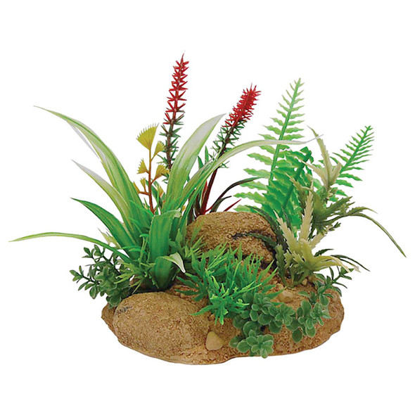 Plant with Rock Base FP81040