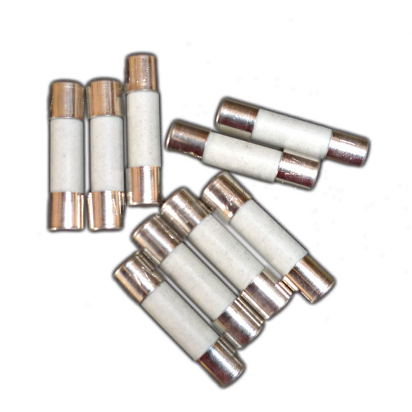 HabiStat Spare Super Fast Blow Fuses, 3.15a (Pack of 10)