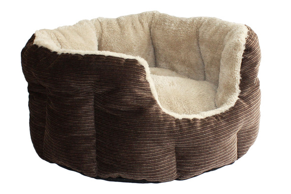 Happy Pet Liazio Oval Dog Bed (Large)