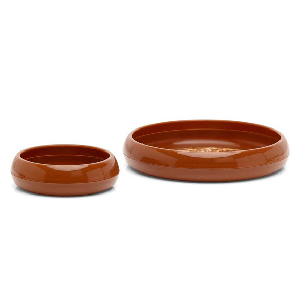 ProRep Mealworm Dish Earth Brown 75mm
