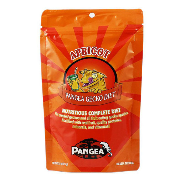 Pangea APRICOT 8oz - Complete Crested Gecko Diet