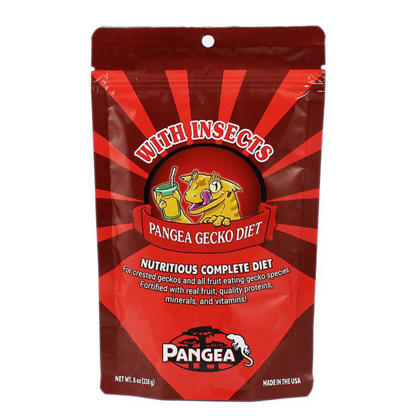 Pangea WITH INSECTS 8oz - Complete Crested Gecko Diet
