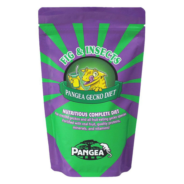 Pangea FIG & INSECTS 16oz - Complete Crested Gecko Diet