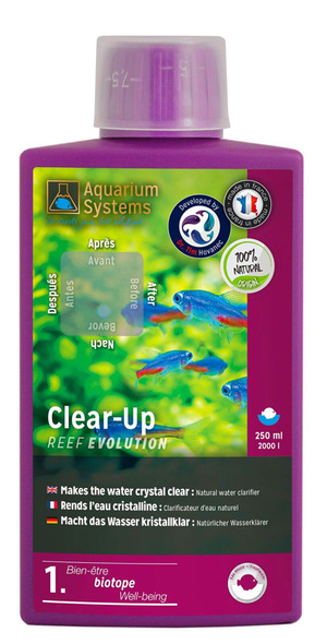 Aquarium Systems Clear-Up Freshwater 250ml
