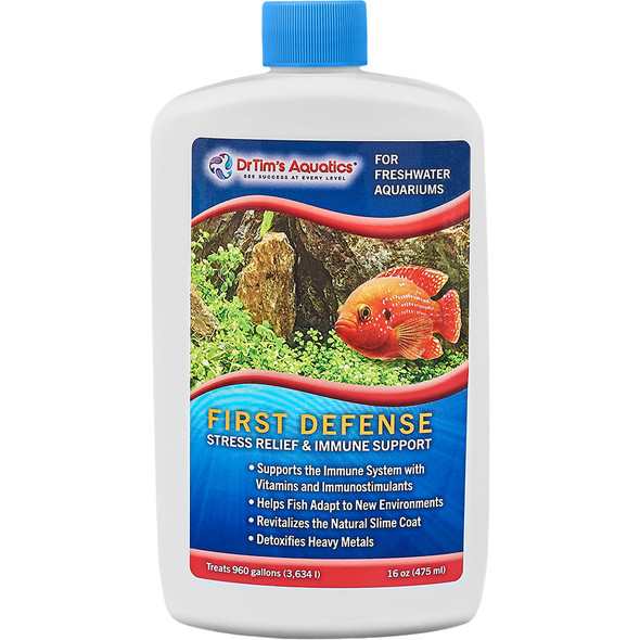 Dr Tim's Freshwater First Defence 16oz - (960gal)