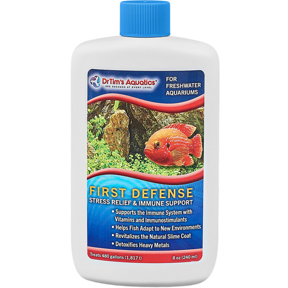 Dr Tim's Freshwater First Defence 8oz - (480gal)