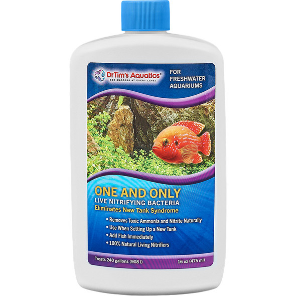 Dr Tim's Freshwater One and Only 16oz - (240gal)