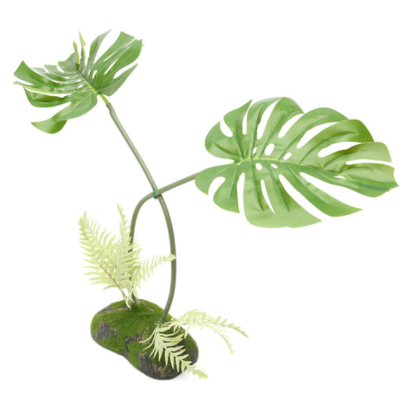 ProRep Artificial Philodendron Monstera Plant, 45cm