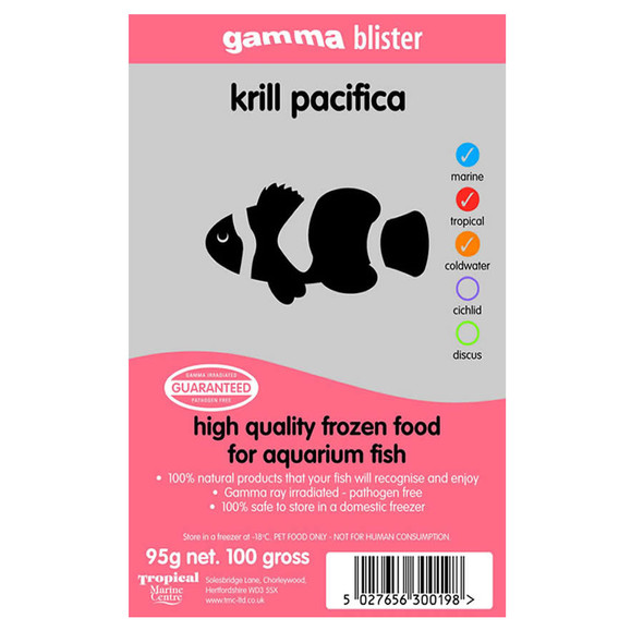 Gamma Blister Pack Krill pacifica, 95g