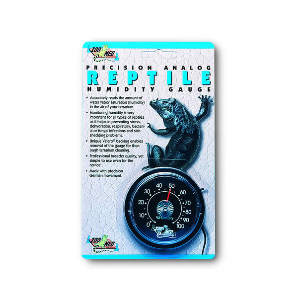 Zoo Med Analogue Humidity Gauge, TH-21