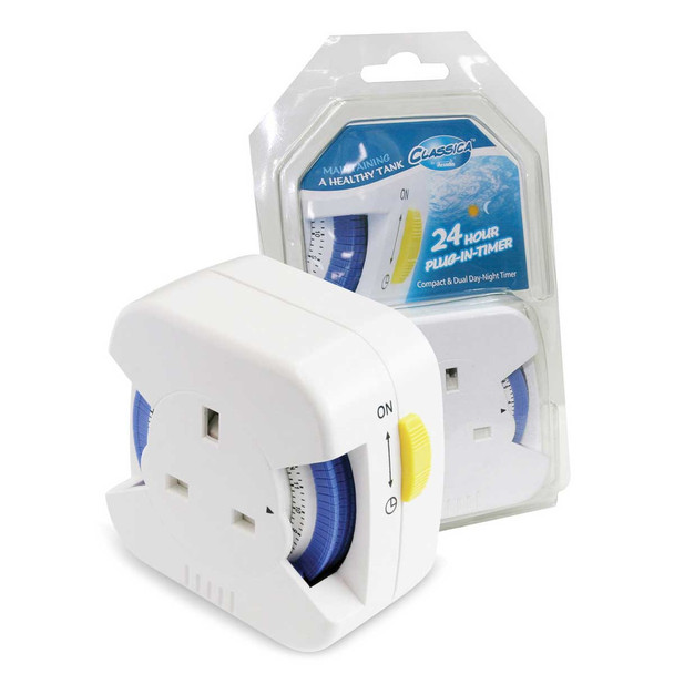 Arcadia Classica 24 Hour Plug In Timer (3kW)