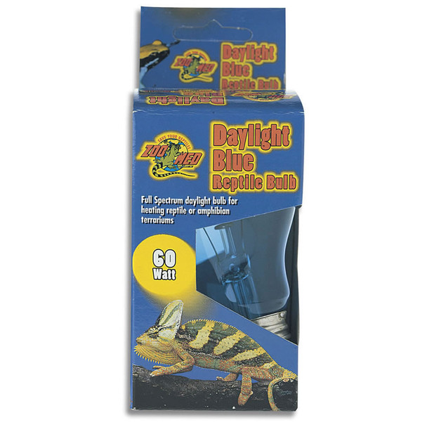 Zoo Med Daylight Blue Reptile Bulb 60W, DB-60