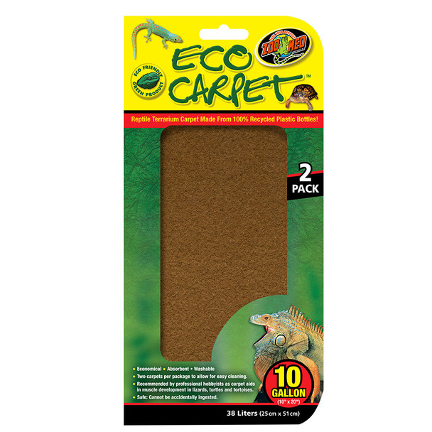 Zoo Med Eco Cage Carpet 10 Gal, CC-10