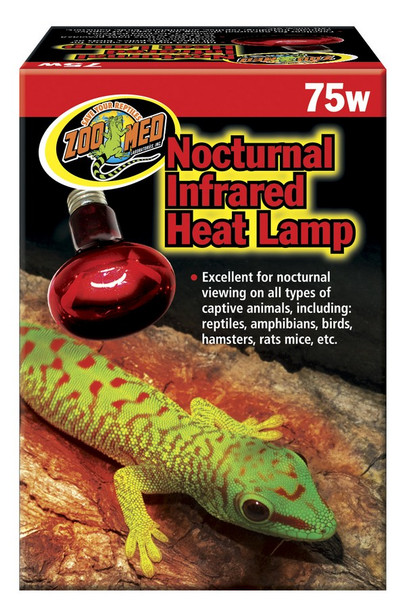 Zoo Med Infrared Heat Lamp 75W ES, RS-75