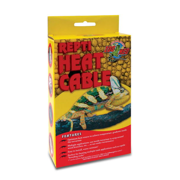 Zoo Med Repti Heat Cable 100W, 12m, RHC-100