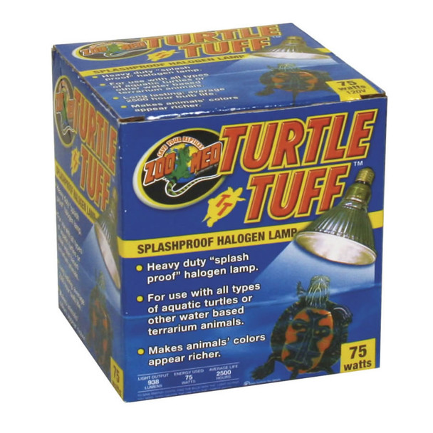 Zoo Med Repti/Turtle Tuff Halogen Lamp 75W, OH-75