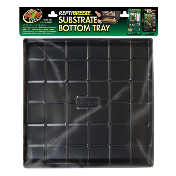 Zoo Med ReptiBreeze Substrate Bottom Tray Sml, NT-11T