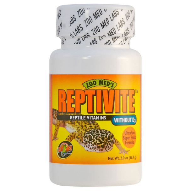 Zoo Med Reptivite WITHOUT D3  56.7g, A35-2