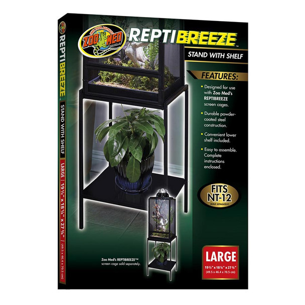 Zoo Med ReptiBreeze Stand (Large)