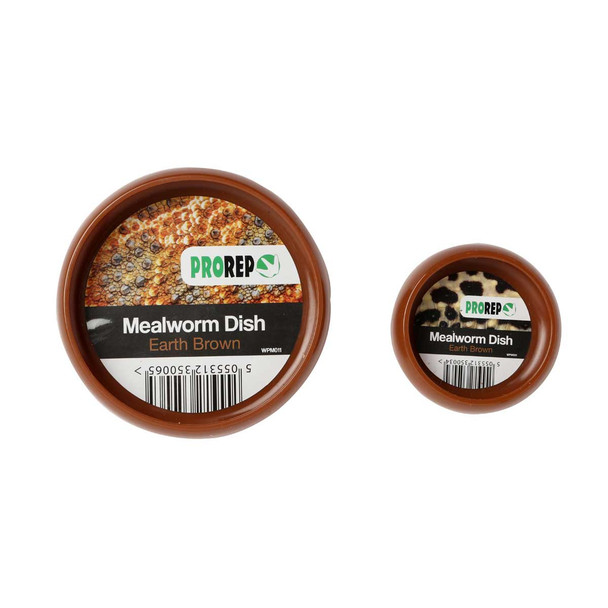 ProRep Mealworm Dish XL Earth Brown 120mm