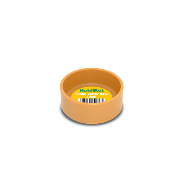 HabiStat Round Plastic Water Bowl, Small