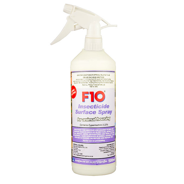 F10 Insecticide Surface Spray 500ml Trigger, VFD330