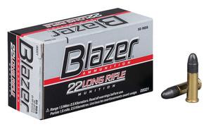 CCI Blazer High Velocity .22 Long Rifle 40 Grain Solid Blazer Rimfire High Velocity